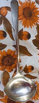 "VINTAGE SILVER PLATED LGE SERVING LADLE / SPOON - LEONARD OF ITALY-13""free uk pp"