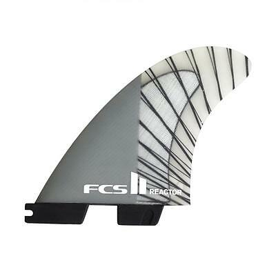 Fcs 2 Reactor Pc Carbon Tri Surfboard Fins In Medium From FCS (FREACC02MDTSR)