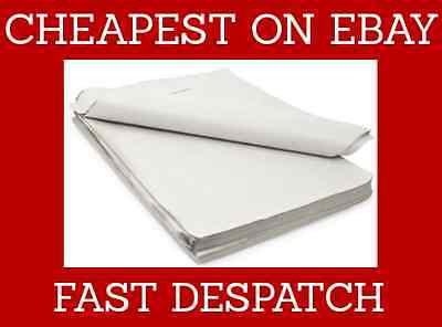 *CHEAPEST ON EBAY* 100 Sheets White Packing Paper - Wrapping, Newspaper Offcuts