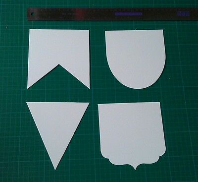 Mountboard flag pennant templates for bunting quilting applique sewing craft