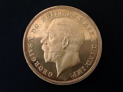 - 1935 Great Britain George V Cameo Proof  .925 Silver Crown - only 2500 minted