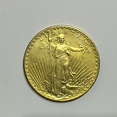 20 Dollar 1933 St. Gaudens Double Eagle Replica