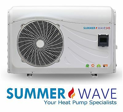 NEW 14.5kw/20kw Swimming Pool/Spa Heat Pump - Plugs into standard 15amp outlet!