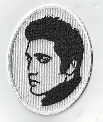 4 INCH ELVIS   IRON ON  or SEW ON EMBROIDERED PATCH BUY 2 GET 3  of these