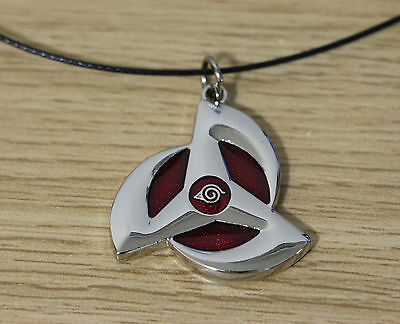 HOT! sale Naruto Akatsuki Necklace Anime Cosplay the wheel eye Necklace