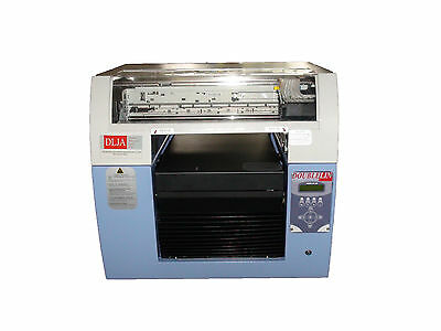 DTG Printer, Doublelin DLJA, A3+ size, 6 channels, half years parts warranty