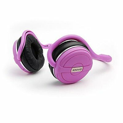 New BTH240 Pink Bluetooth Headphone Wireless Music Streaming Hands Free