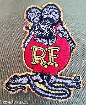 """""""rat Fink"""" Embroidered Patch Hot Rod Car Surfboard Truck Surfing Holden Ford"""