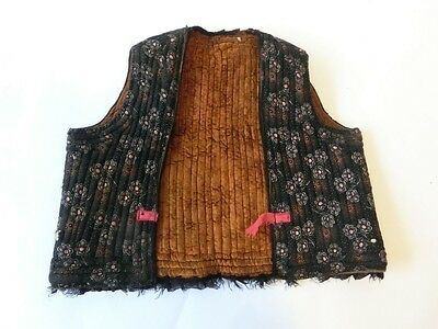 18thC Antique Authentic Original Ottoman Turkish Waistcoat Vest