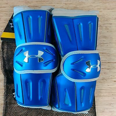 Under Armour Revenant Arm Pads - Box - Royal - Medium - NEW
