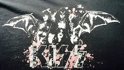 RARE KISS T SHIRT Double Sided Print Size Large