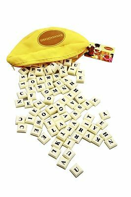 Toy Puzzle Bananagrams Game Educational Spelling Words Fun Travel Play Board