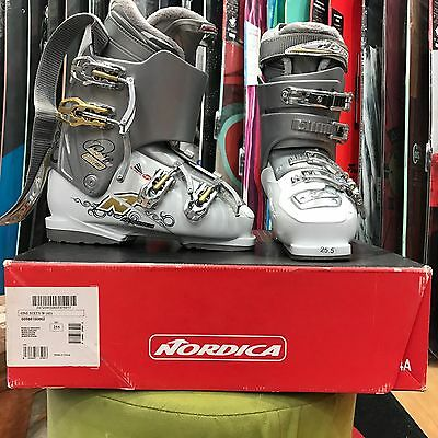 New Womens Nordica Ski boots -Excess Stock - Retail Store Clearance - Size 25.5