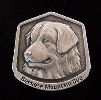 Bernese Mountain Dog Fine Pewter Dog Breed Ornament