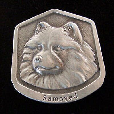 Samoyed Fine Pewter Dog Breed Ornament
