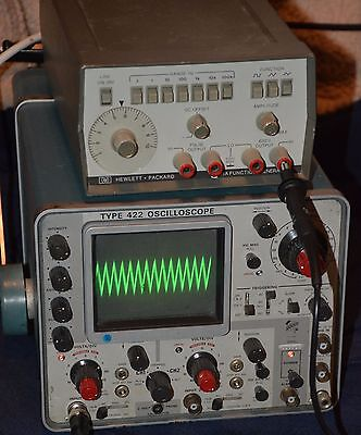 "HP Hewlett Packard 3311A Function Generator ""For Parts or Repair Only"""