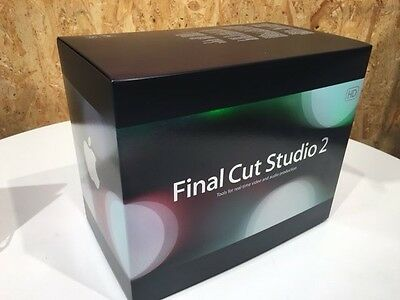 NEW UNOPENED Apple Final Cut Pro 2 HD Software Complete package