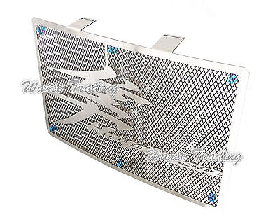 Radiator Grille Guard Cover Protector Steel For 08-17 SUZUKI Hayabusa GSXR 1300