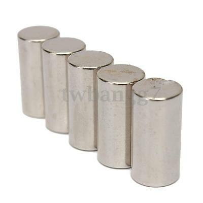 5Pcs N50 Powerful Round Disc Magnets 10mmx20mm Strong Rare Earth Neodymium Hot