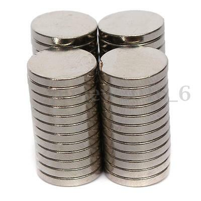 50x Powerful Round Disc Permanent Magnets Strong Rare Earth Neodymium N50 12X2mm