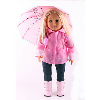 2017 Wedding Handmade lovely dress clothes for 18 inch American Girl Doll b894