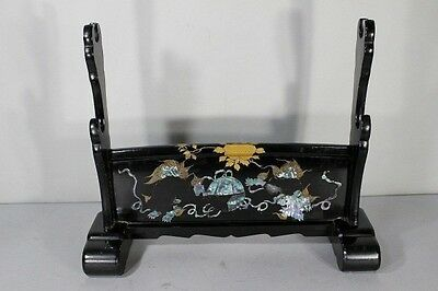 Japan Old Collection Sword rack / Lacquer / Mother of pearl / Great Work!!