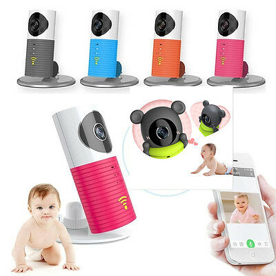 2 Way Talk IP Wireless WIFI Baby Monitor Night Vision Camera Home Security &Case