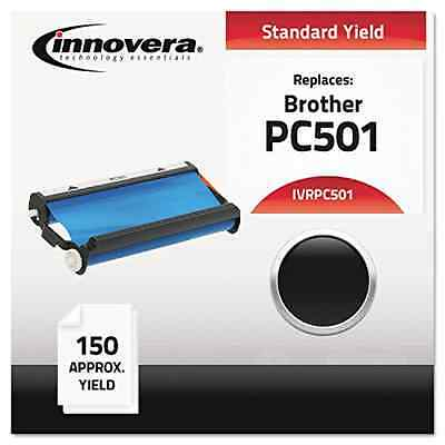 NEW Fax Toner Cartridge for Brother IntelliFax 575 compatible Black IVRPC501