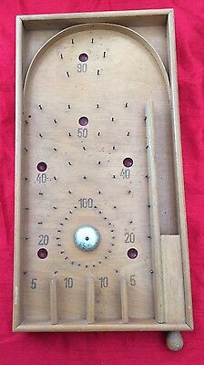 Small Bagatelle game spring loaded