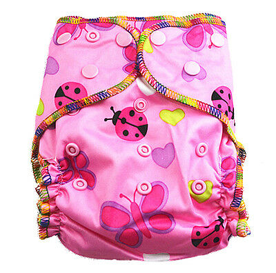 Top Quality Class MCN Modern Cloth Nappy Waterproof Baby Girl Girly Nappies (T18