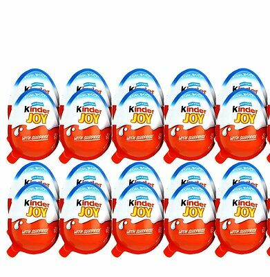 6 x Kinder JOY Surprise Eggs, Ferrero Kinder Choclate Best Gift Toys For BOY