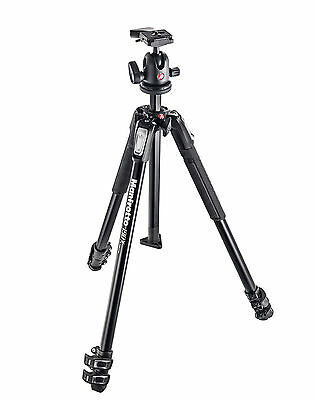 Manfrotto Tripod 190X ALU 3 Section & 496RC2 Ball Head