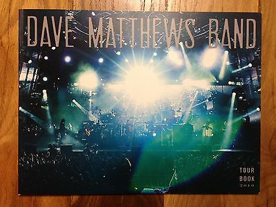 Dave Matthews Band Dmb 2010 Tour/concert/photo Book