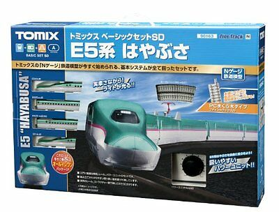 New Tomix N Gauge 90163 Basic Set Sd E5 System Falcon