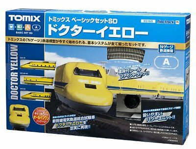 New Tomix N Gauge 90160 Basic Set Sd Doctor Yellow