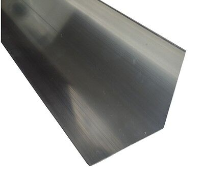 Aluminium Extruded Angle Various Sizes 500mm - 1000 mm length