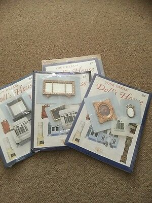YOUR DREAM DOLLS HOUSE  MAGAZINES/ACCESSORIES Number 30,50,32,17