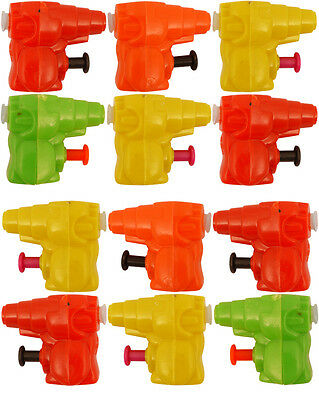 Mini Water Guns Pistols- Pinata Toy Loot / Party Goodie Bag Fun Fillers for Kid