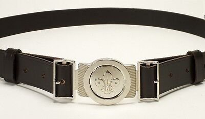 Scout Leather Belt And Buckle All Sizes
