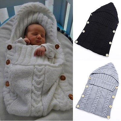 Kids Baby Toddler Newborn Blanket Swaddle Sleeping Bag Sleep Sack Stroller Wrap