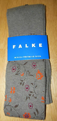 FALKE girl cotton tights BNWT 110-116, UK 9-11.5, US 10-12.5,  5-6 y