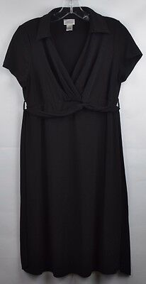 Motherhood Black Maternity dress, Size M