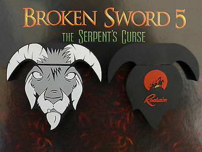 BROKEN SWORD 5 The Serpent's Curse RARE USB GOAT LIMITED EDITION /1 2 3 4 ps4 pc
