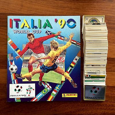 Álbum Empety World Cup Italia 90 Panini 448 Stickers  Completo