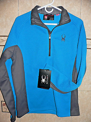 2016 NEW SPYDER CORE SWEATER OUTBOUND MID WEIGHT JACKET MENS M or L