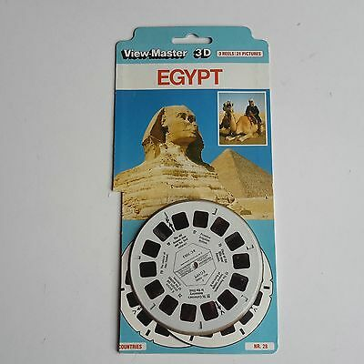 Viewmaster three reel set 3d  EGYPT