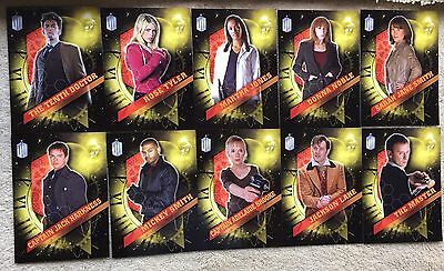 Doctor Who SDCC Exclusive 30 Card Set Ltd ED Only 200 Sets Made! TOPPS  Last 2 !