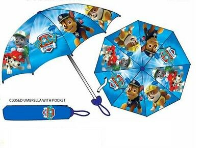 Paw Patrol Umbrella Blue Marshall and Rubble By BestTrend