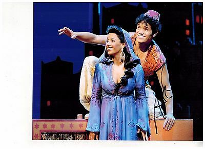 ADAM JACOBS--ALADDIN ON BROADWAY Signed Photo 8x10--#24   2015 PROOF