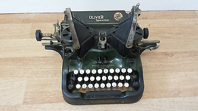 Oliver Typewriter Number 9, Unique and Vintage, Used